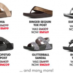Fitflop Sale: Price from only RM99 大促销:一双只要RM99!