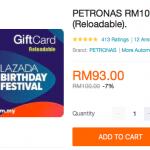 PETRONAS Gift Card Special Discount 汽油卡特别促销!