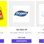 LAZADA Weekly Crazy Deals & Vouchers up for grab 给你额外折扣码!