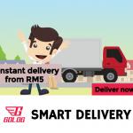GOLOG RM15 Credits Giveaway 全新快递兼运送平台给你额外RM15折扣码!