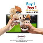 Haagen Dazs Parfait Crunch Buy 1 FREE 1 Promo 雪糕买一送一促销!