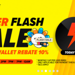 LAZADA Wallet 10% Rebate Promo 给你额外10%回扣!