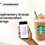 Starbucks FREE Grande Sized Handcrafted Beverage Giveaway 请你喝免费星巴克饮料!