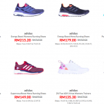 Adidas Reebok and More Shoes from only RM49球鞋大减价:一双从RM49起!