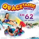 Sunway Lagoon Entrance Ticket at only RM62 双威水上乐园入门票只要RM62促销!